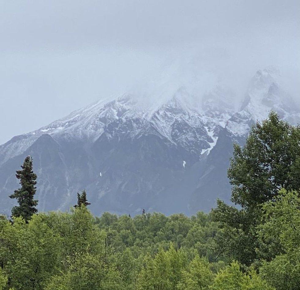 July Snow_TKA Mtns_Lorraine Krueger 7-7-21