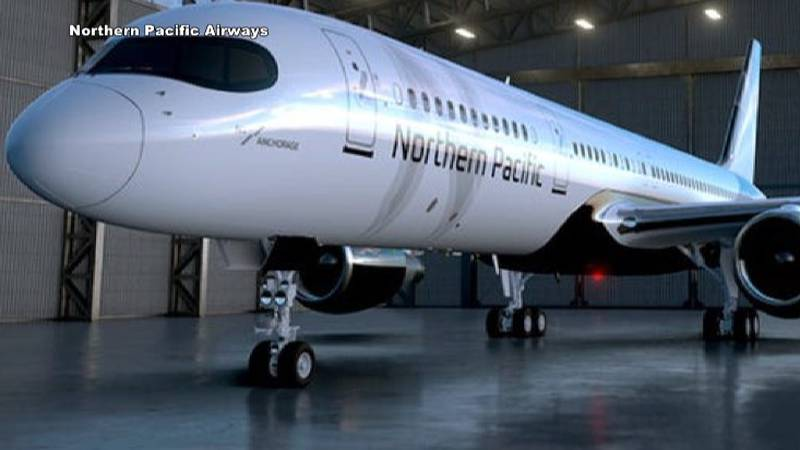 Northern Pacific Airways plans to use 12 757's for its new service