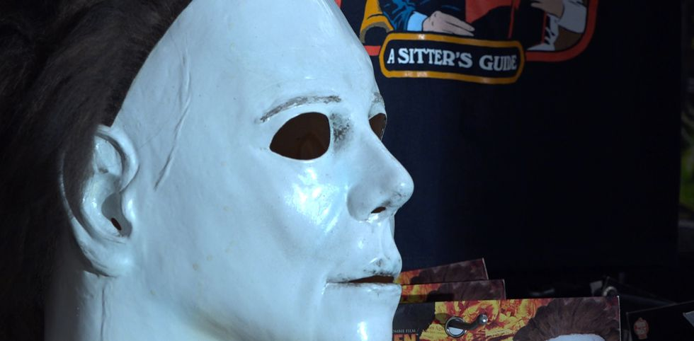A classic Michael Myers Halloween mask. Spirit Halloween employees say these are always a...