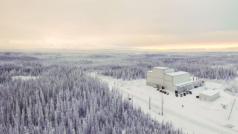The High-frequency Active Auroral Research Program site in Gakona, Alaska.