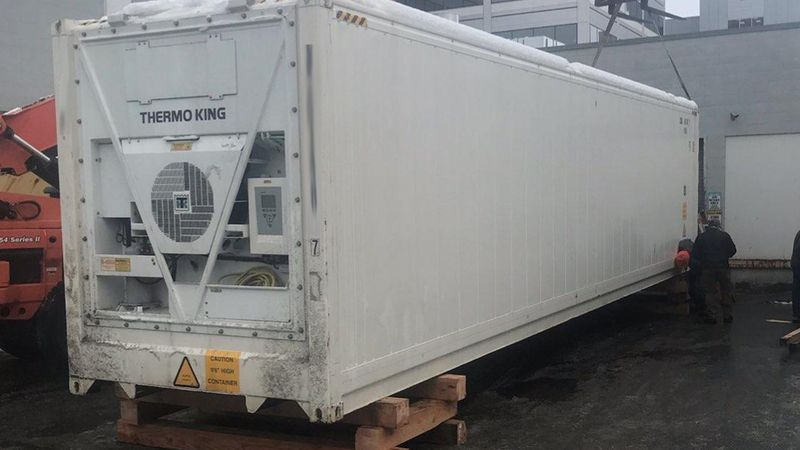 Providence Alaska Medical Center has acquired a refrigerated trailer to act as a mobile morgue.