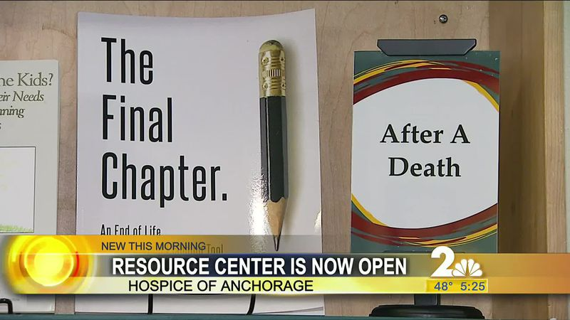 Hospice of Anchorage offers resource center to the community.