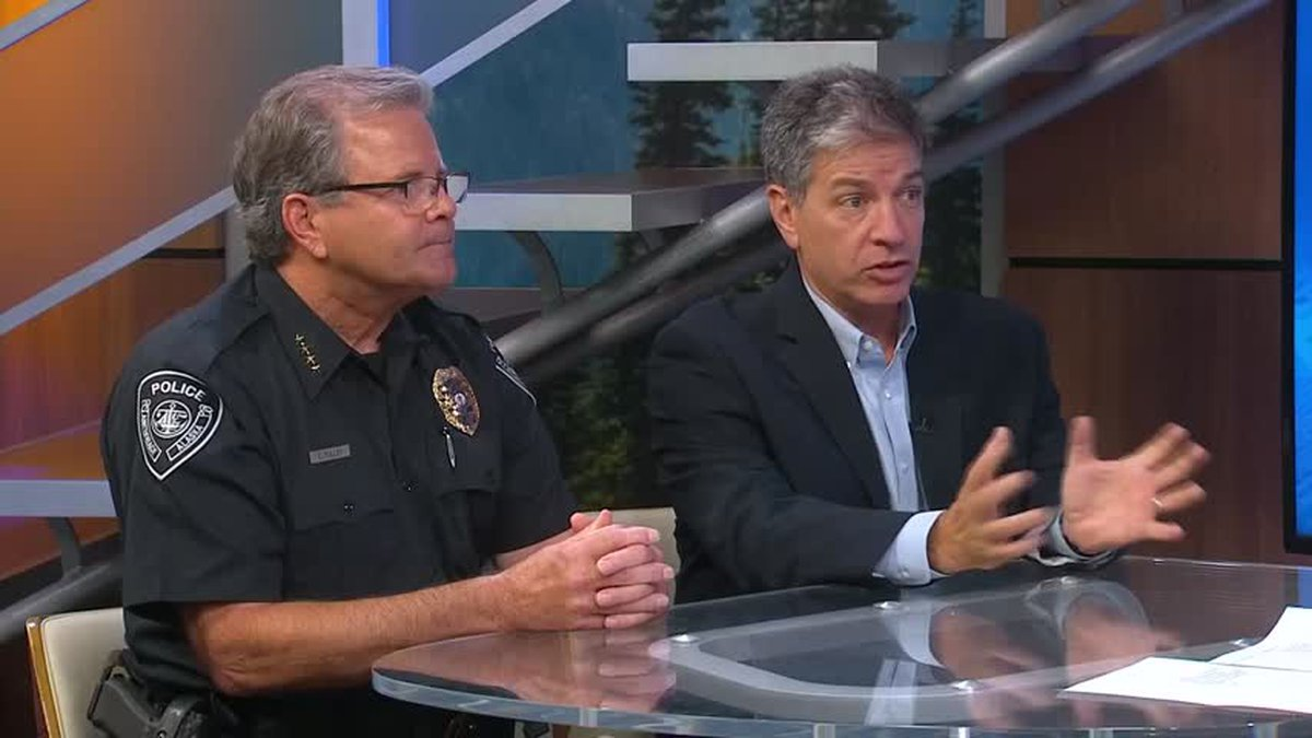 Anchorage Mayor Ethan Berkowitz and Police Chief Chris Tolley discuss 2016 homicides.