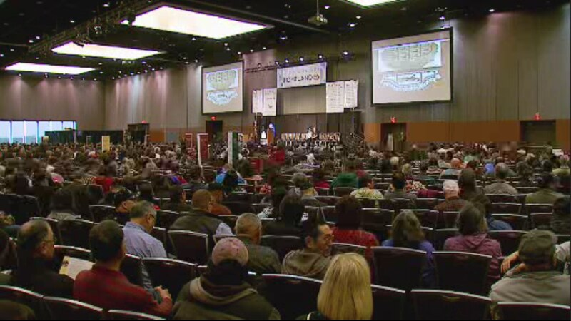 The 2015 Alaska Federation of Natives convention in Anchorage.