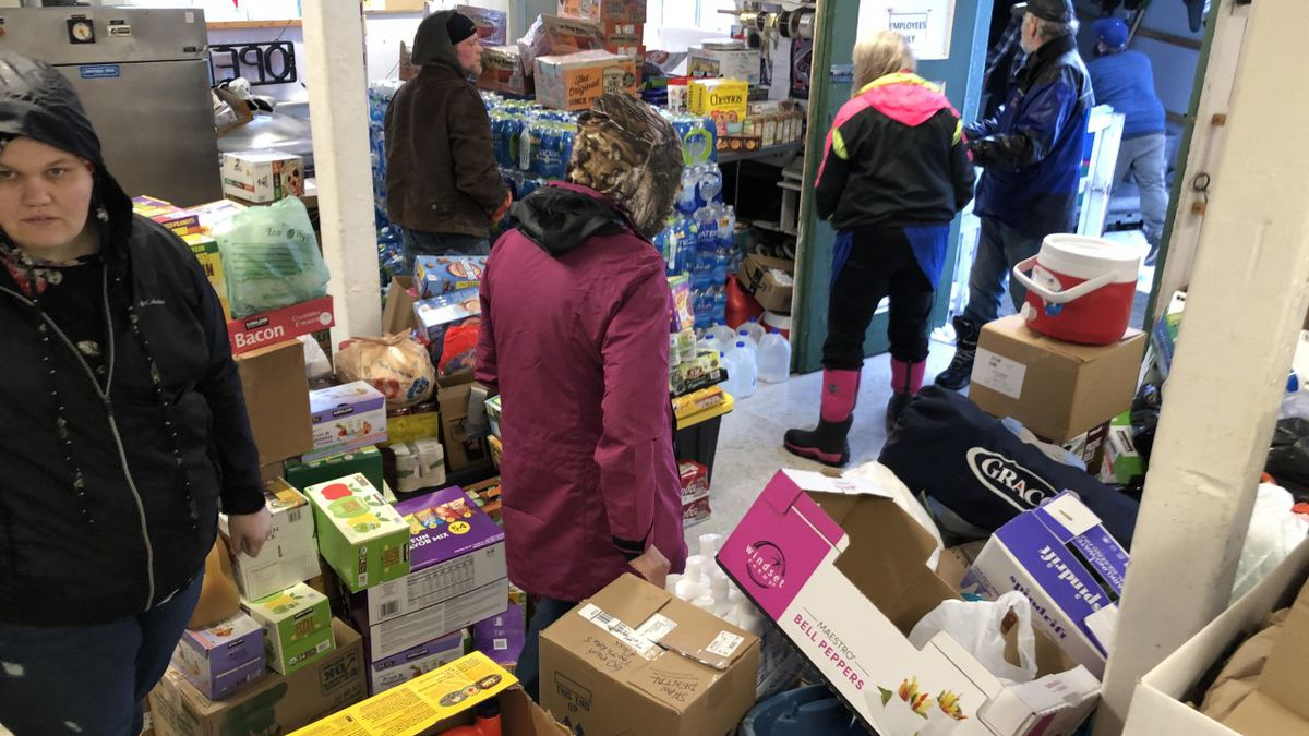 U-Haul arrives in Haines with supplies
