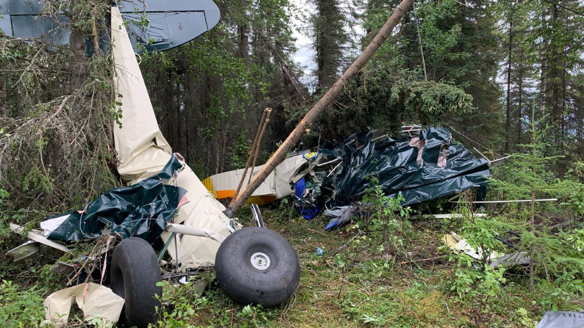 A crash involving two aircraft near Soldotna has resulted in the deaths of seven people, Alaska State Troopers said Friday afternoon.
