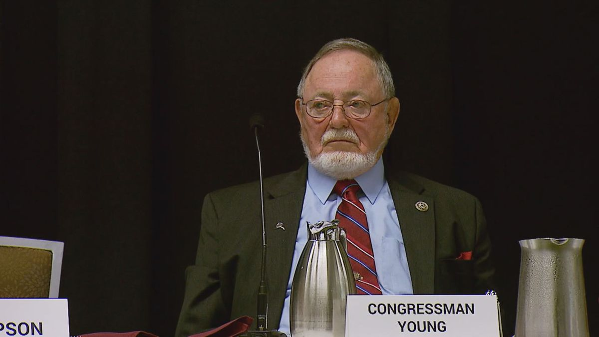 Rep. Don Young in 2018