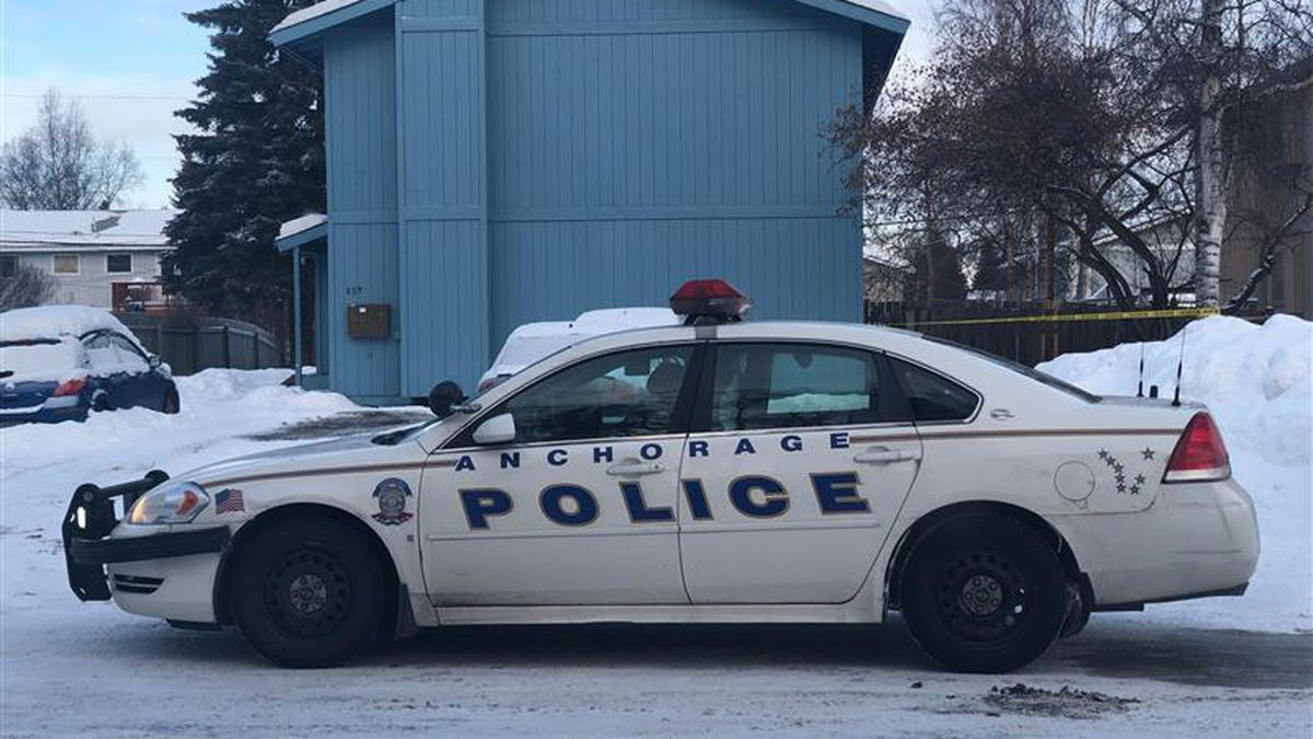 Anchorage police are investigating a suspicious death on W. 75th Avenue on Jan. 29, 2021.