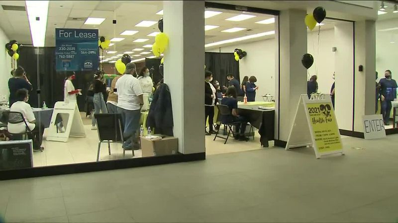 Take One Step Health Fair has first event