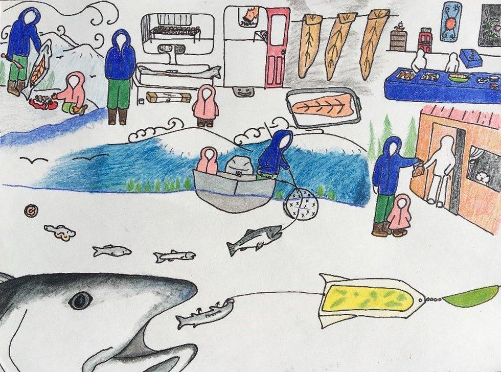 2020 Alaska Fish Heritage Award Winner, Maddy G., 10th grade, Petersburg, AK
