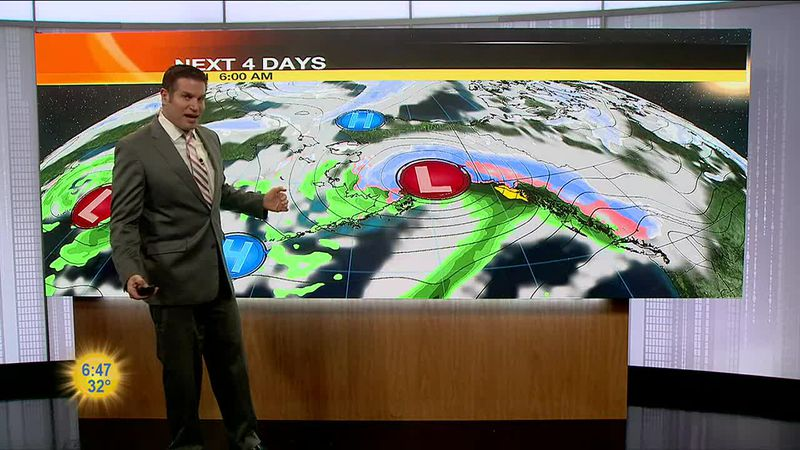 A snowy commute with winter weather advisory's in effect until Noon for Anchorage with snowy,...
