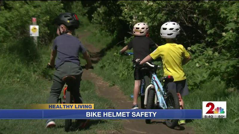 Bike helmet and life jacket safety