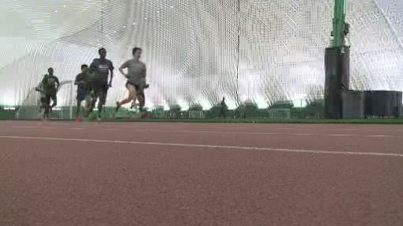 UAA track and field.