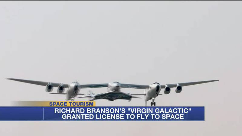 In this week's Tech Beat, Virgin Galactic gets clearance to fly tourists to space, a mannequin...