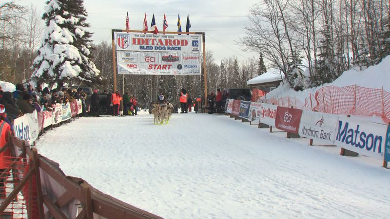 This photo from the Iditarod Willow Restart in 2019 is a different view than what few...