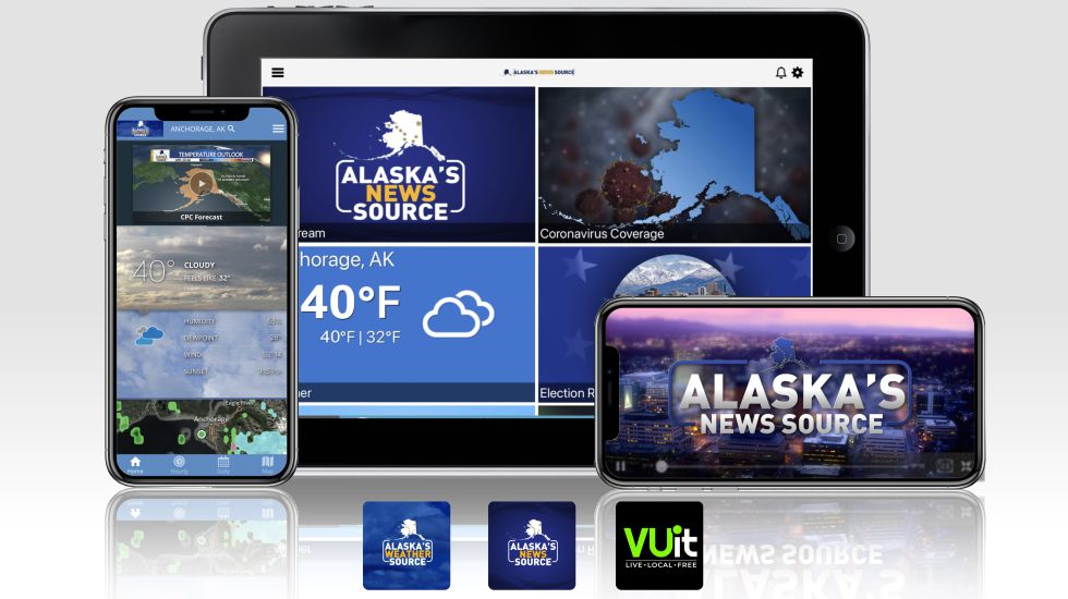 News and weather alerts from Alaska's News Source and Alaska's Weather Source are available for...