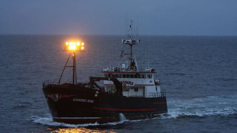 Undated photo of the F/V Scandies Rose from U.S. Coast Guard Alaska.