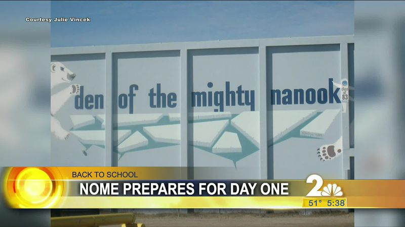 Back To School: Nome prepares for a return to full-time classes