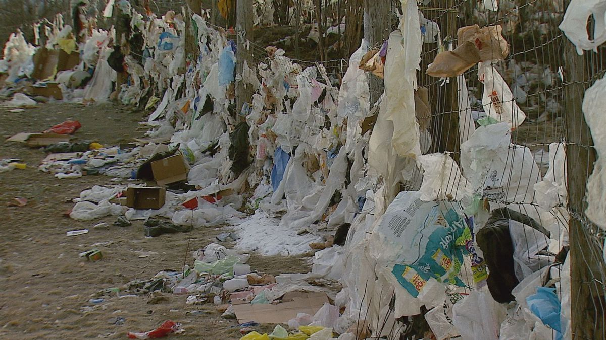 Thousands of plastic bags become loose at the Mat-Su Borough landfill littering the area in derbies causing problems not only for the environment and wildlife but also those who live in the Mat-Su.