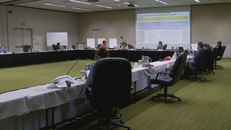 The Anchorage Assembly continues discussions on how to allocate remaining CARES act funding.