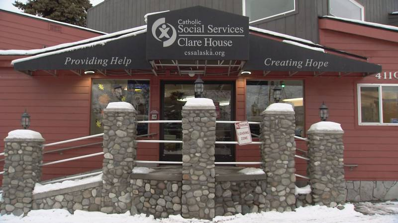 Clare House is an emergency shelter operated by Catholic Social Services