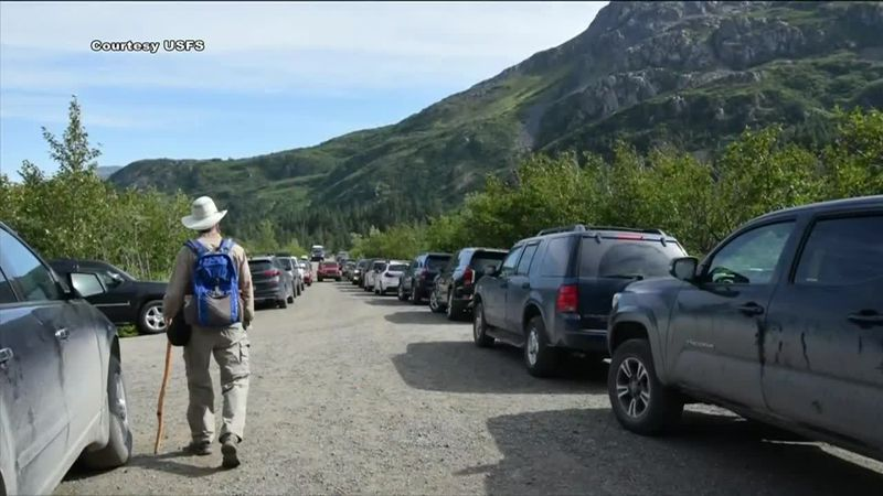 Alaska's National Parks see an increase in visitors this summer and into the Labor Day weekend.