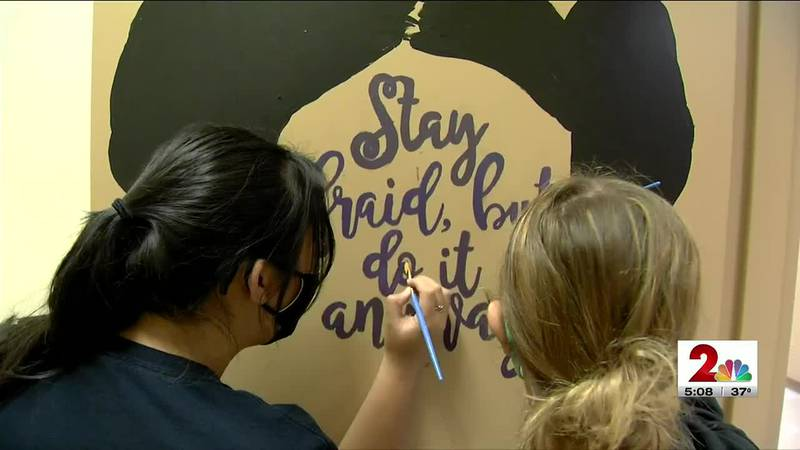 Service High students fight bathroom vandalism with gentle reminders to be kind.