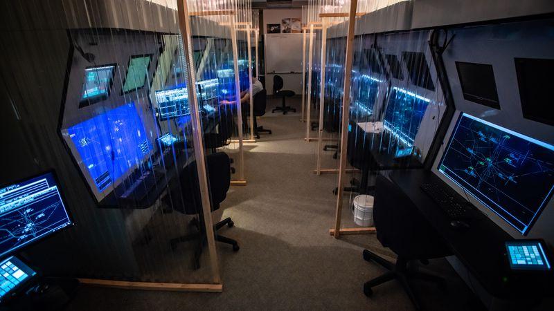 UAA's upgraded Air Traffic Control Lab