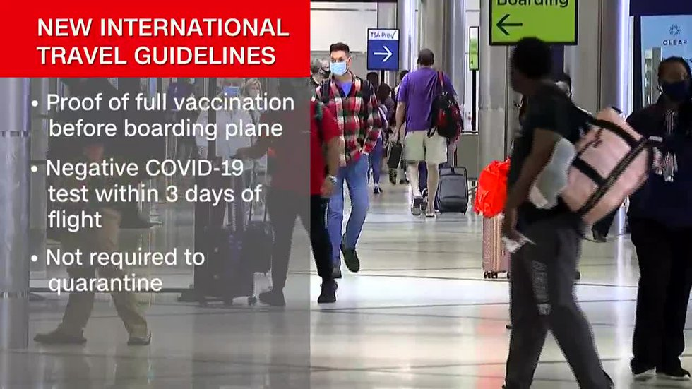 Q&A: America's new COVID-19 rules for international travel