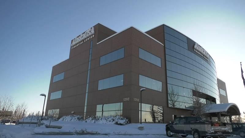 Alaska USA Federal Credit Union building (John Dougherty/KTVF)