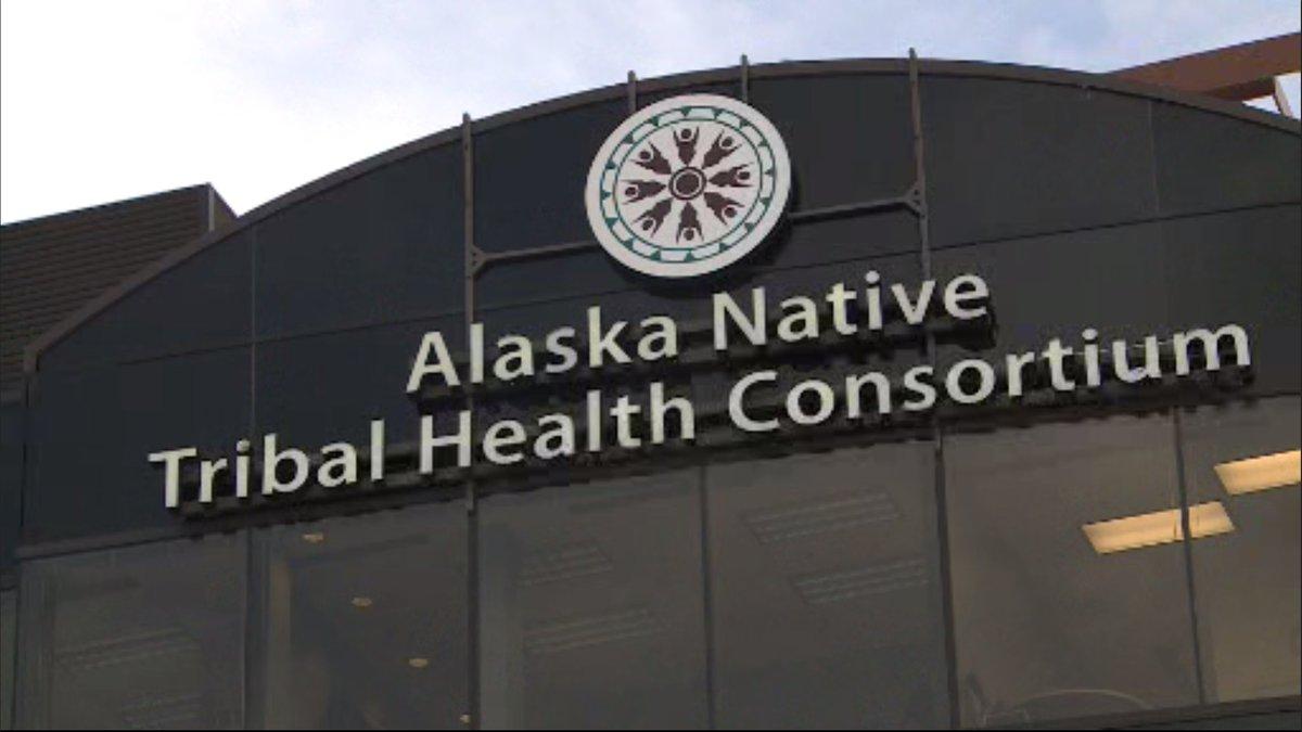 The Alaska Native Tribal Health Consortium building in Anchorage.