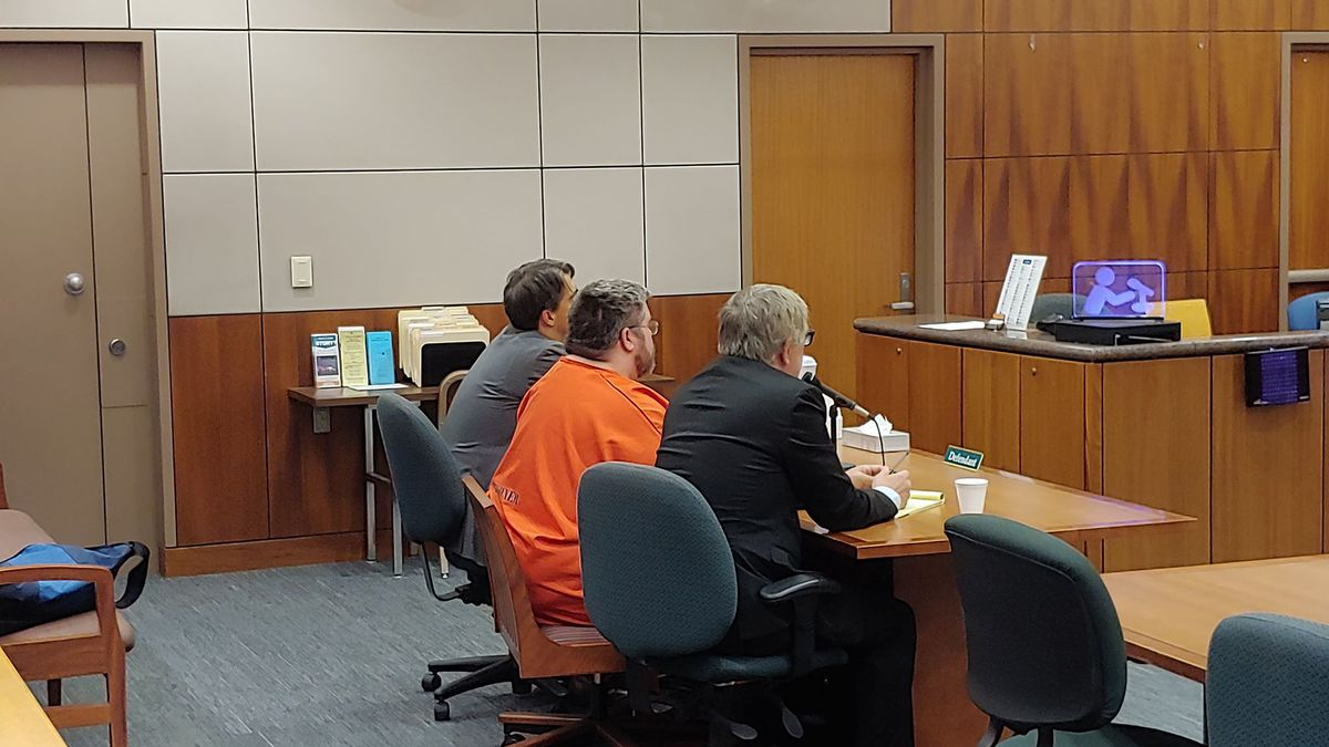 Steven Downs, accused of the rape and murder of Sophie Sergie, in 1993, appeared in court this...