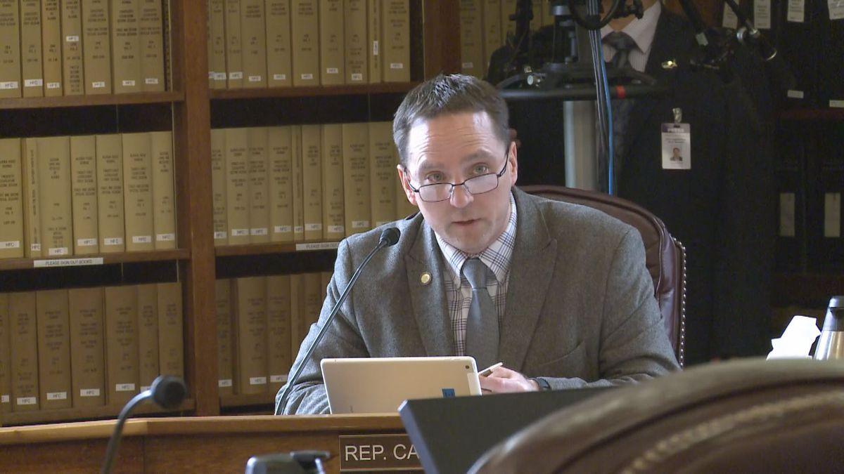 Rep. Ben Carpenter in the Alaska State Capitol. (04/05/19)