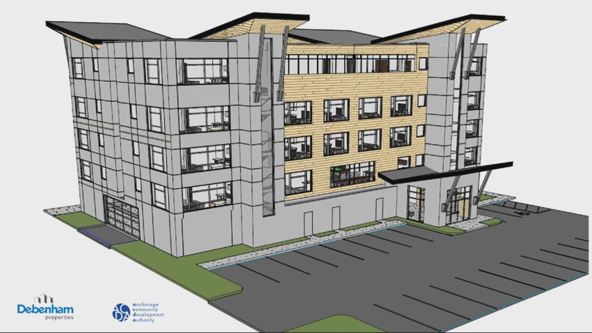 New Apartment Complex Slated For Downtown Anchorage