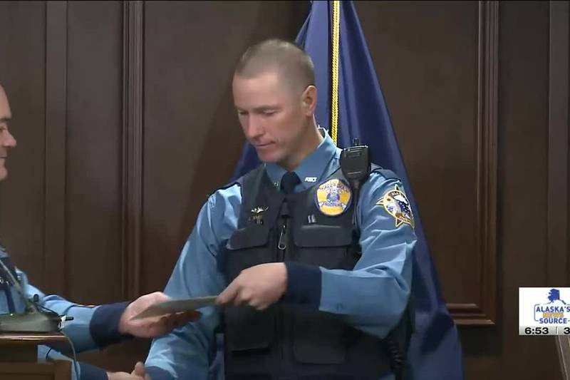 Alaskans honored for live saving actions