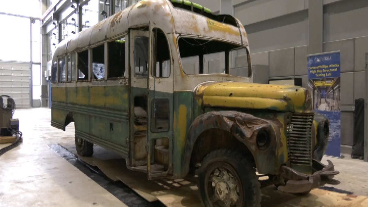 A world-famous bus that has stirred much controversy across Alaska is now visible at the...