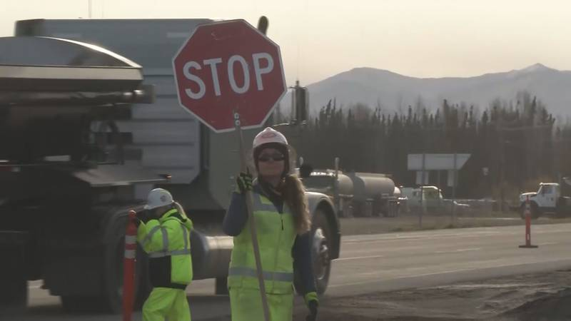 Summer construction season in Alaska runs from the first part of May until around Labor Day.