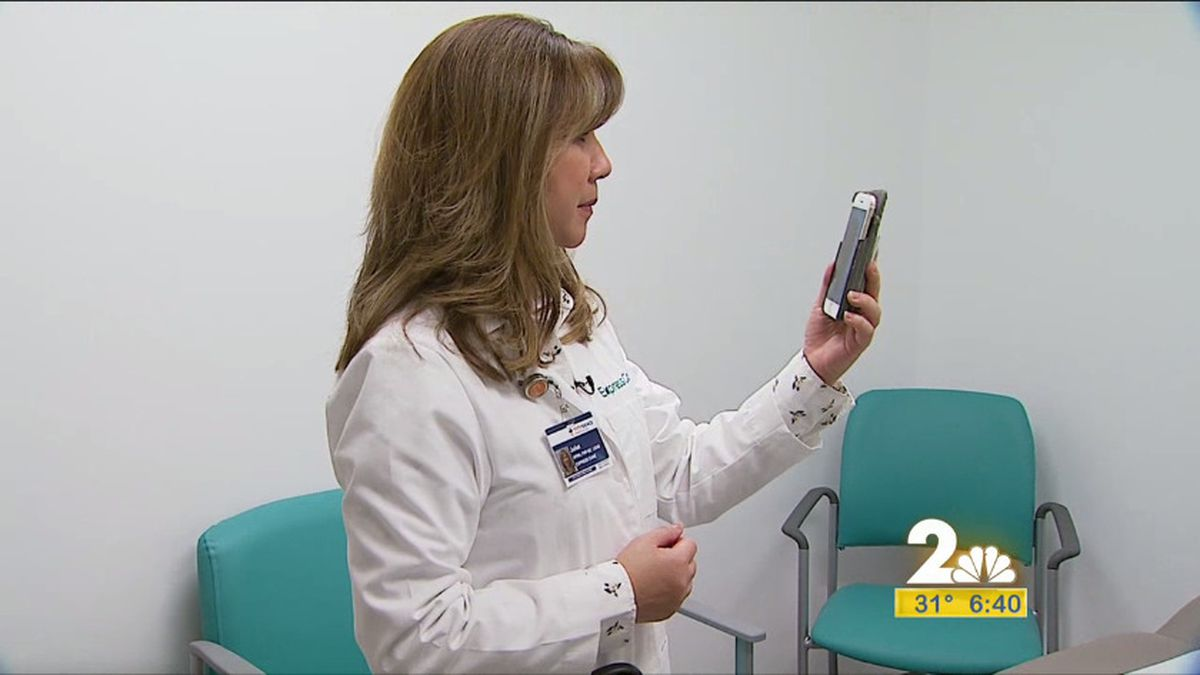 Lead Provider, Juliet Santos at Express Care Clinic showing what a virtual visit is like.