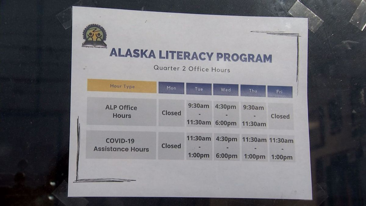 The Municipality and Alaska Literacy Program are offering assistance applying for COVID-19...