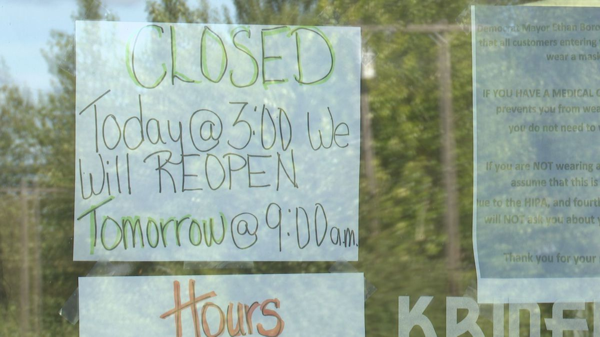 Due to high demand, Kriner's Diner closed early on Tuesday to begin restocking and prepping...