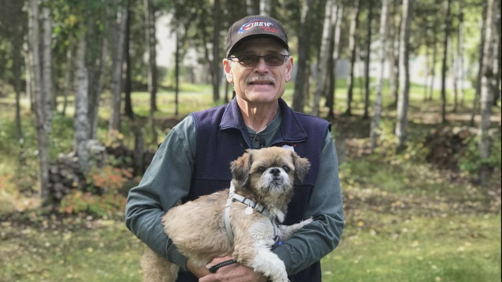 Anchorage man and his dog make lap around the planet, walking over 24,901 miles in the past 8 years