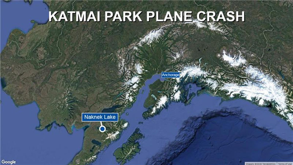 A plane crashed in Katmai National Park and Preserve on Sept. 15.