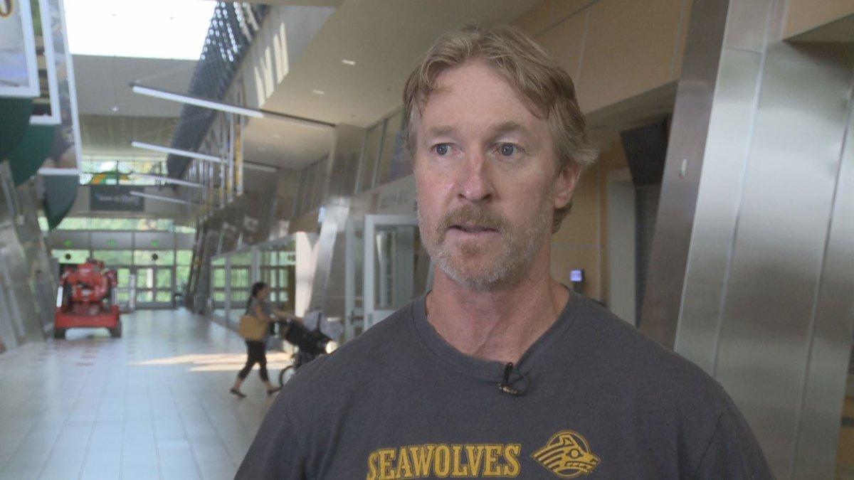 University of Alaska Anchorage Ski Coach Sparky Anderson. (KTUU)
