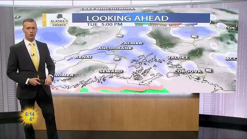 Tuesday, February 23 Morning Weather