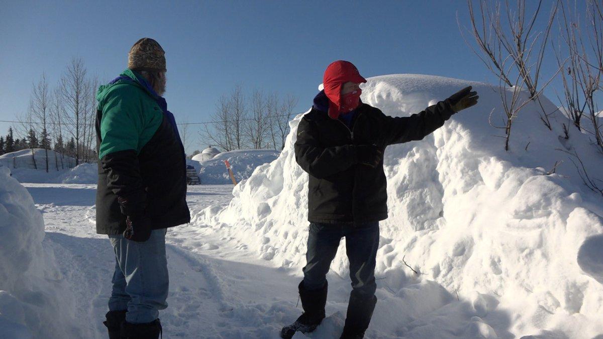 Iditarod volunteers in McGrath