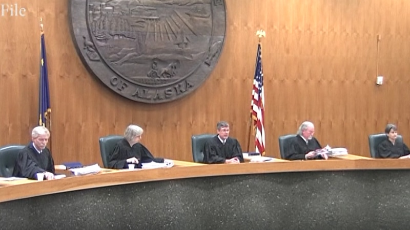 File Photo of the Alaska Supreme Court. (KTVF)