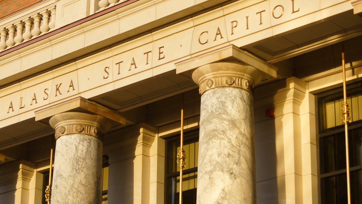 The Alaska State Capitol.