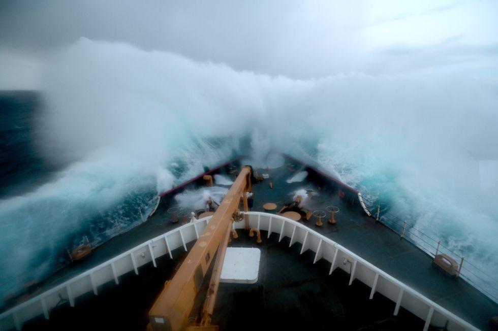 Patrolling the Bering and Chukchi Seas