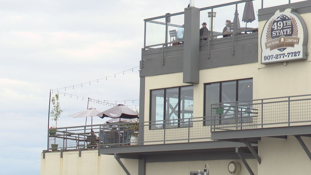 49th State Brewing Company's location in Anchorage has two decks that have helped it maintain business throughout the COVID-19 pandemic.
