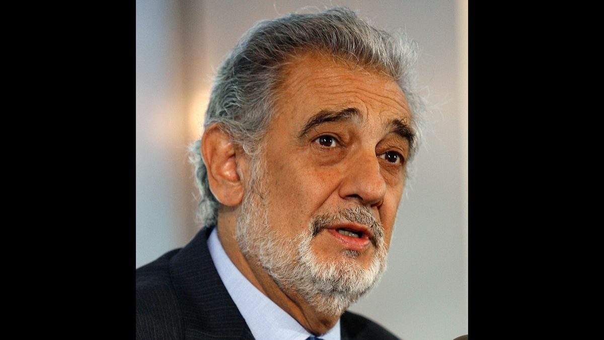 Placido Domingo (Image from Associated Press)